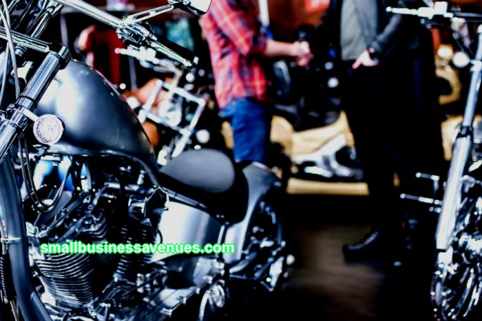 Own business: motorcycle sales