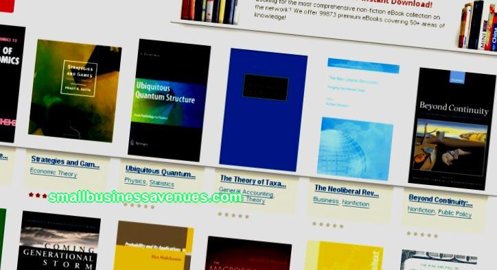 Business ideas online book store