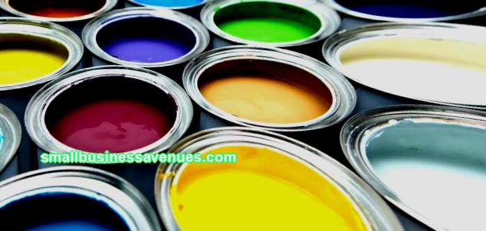 Get into the color: open a store of auto enamels