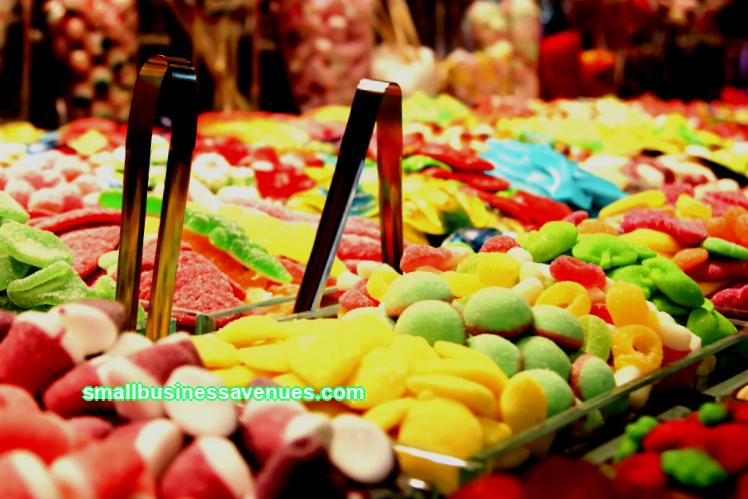 Business idea: a candy store from scratch
