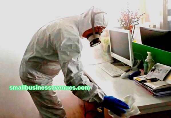 Geschäftsplan für den Desinfektionsservice