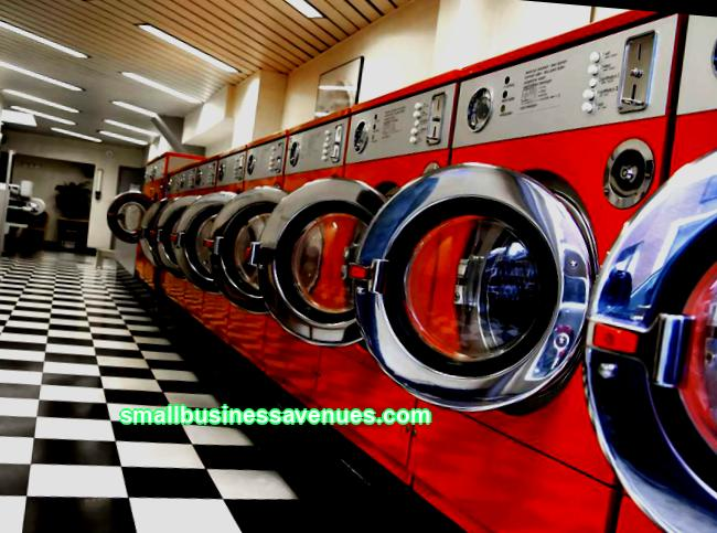 Business idea: self-service laundry