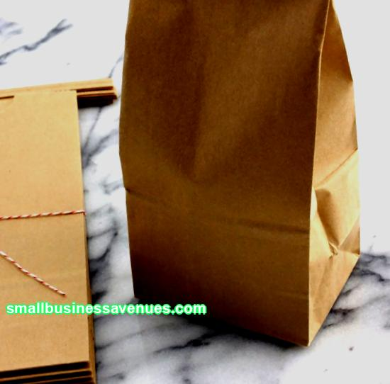 Business idea: production of paper bags