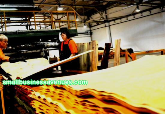 Business idea: plywood production