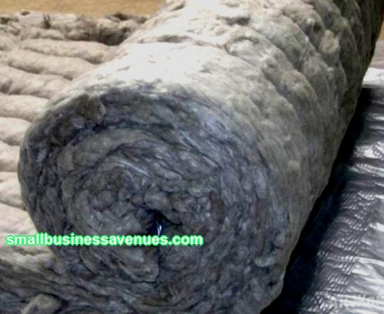 Geschäftsidee: Herstellung von Mineralwolle
