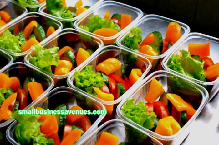 Business idea: salad production