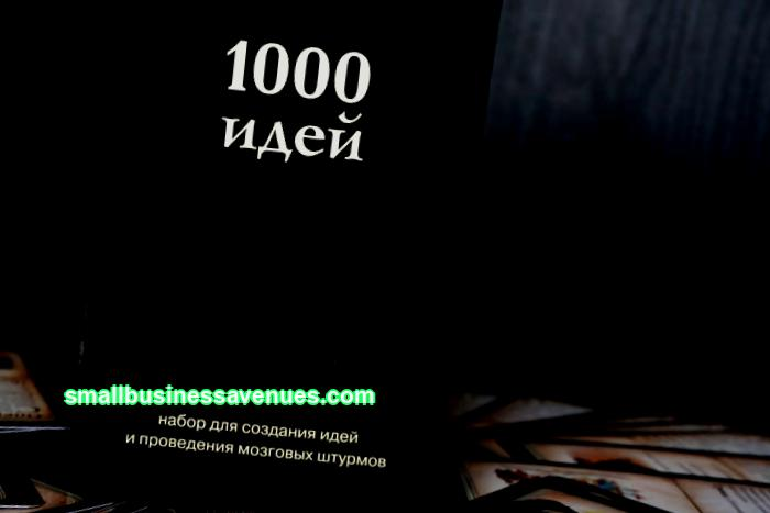 1000 business ideas
