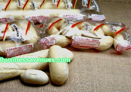 Frozen bread baking; simple business idea with a profit of 40% or more
