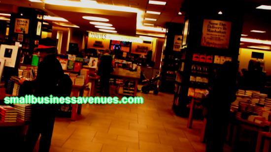 Download a sample bookstore business plan