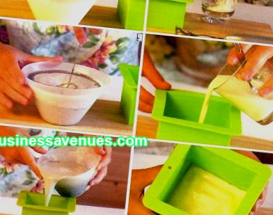 Business idea with minimal investment; making handmade soap at home