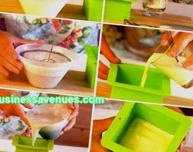 Бизнес идея с минимални инвестиции; приготвяне на ръчно изработен сапун у дома