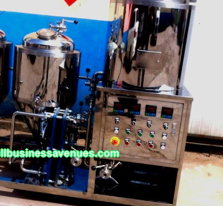 There are a lot of options for starting your own business, but your own mini-brewery is especially attractive.
