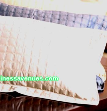 Own business: production of pillows and blankets