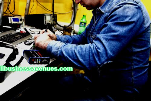 Business idea: electronics repair workshop Investments: from 210,000 rubles Payback: from 3 months In this article we will analyze the opening of an electronics repair workshop: how to enter