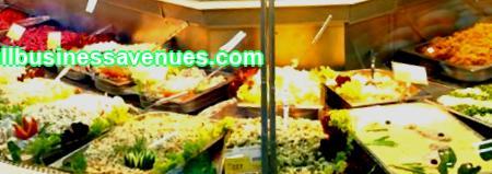 Mikä vaikuttaa valmiiden salaattien valikoiman valitsemiseen Salaattimyymälän järjestely riippuu tarjotusta tuotevalikoimasta. Jos aiot tehdä