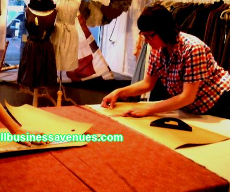 Profitable business: sewing workshop