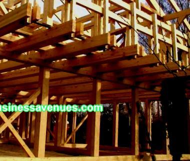Geschäftsplan für den Bau von Fachwerkhäusern