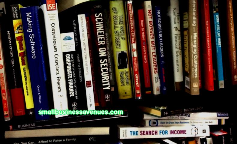 Books structure and content of a business plan