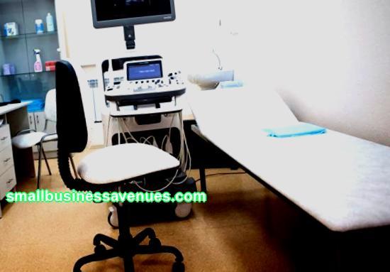 Equipment for an ultrasound office