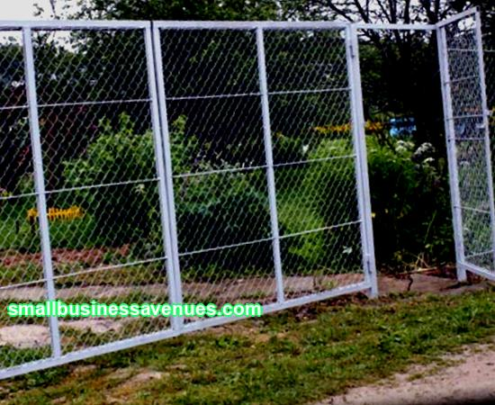 Business idea: production of chain-link mesh