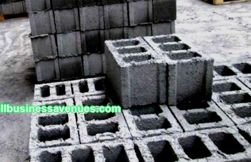 Business plan for the production of cinder blocks