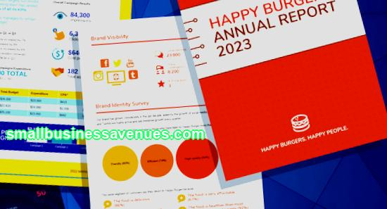 Over 30 business report templates any business needs and design tips