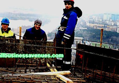Geschäftsplan des Bauunternehmens
