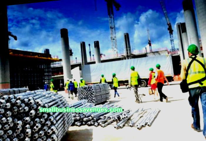 Rakennusmateriaalien tuotanto