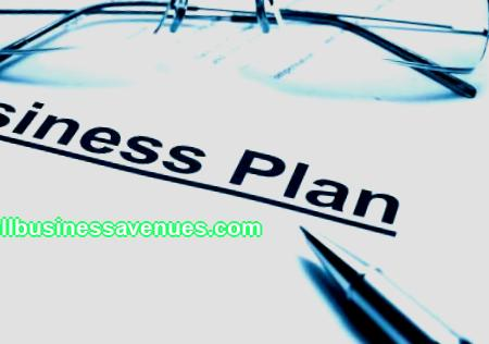 Business plan title page; sample
