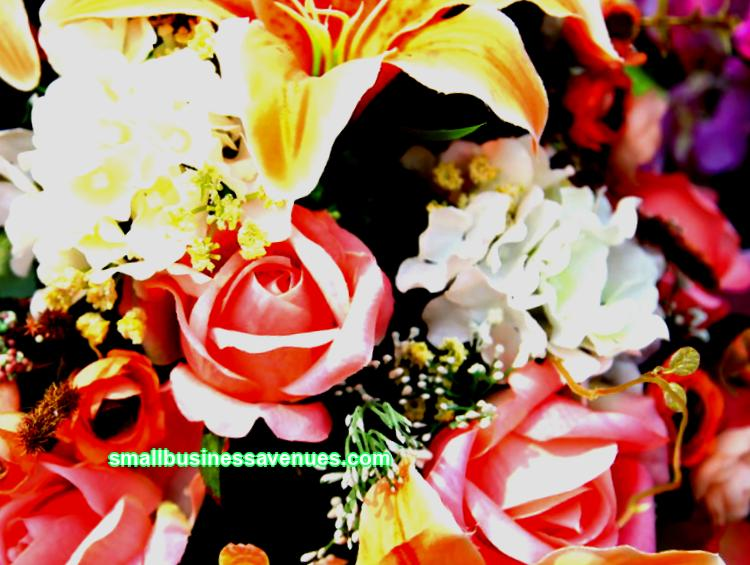 Own business: how to make money on artificial flowers