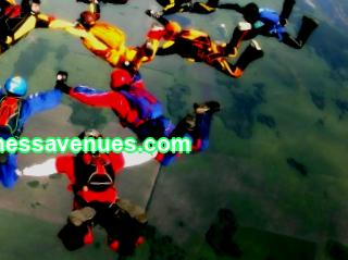 Parachuting business - how to make money jumping from a plane with a parachute